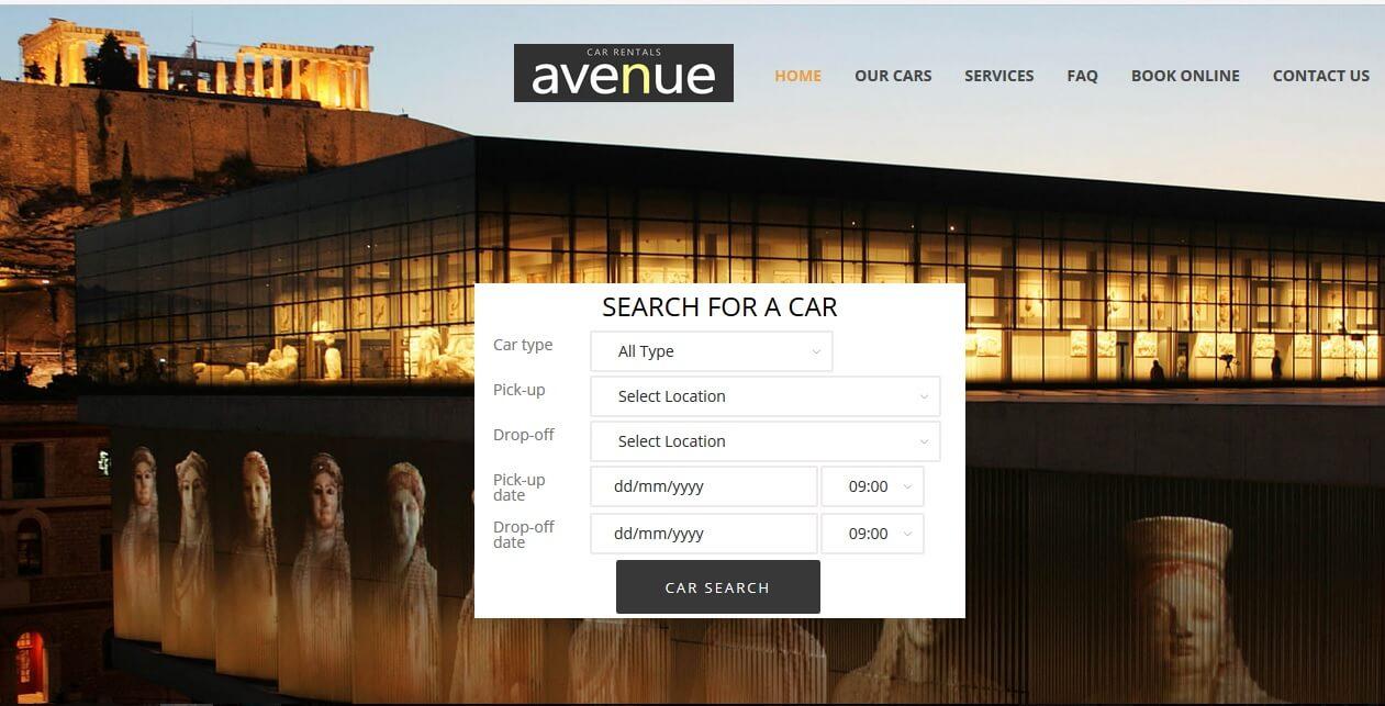 Car Rental Athens Ga: Avenue Car Rentals Athens Center