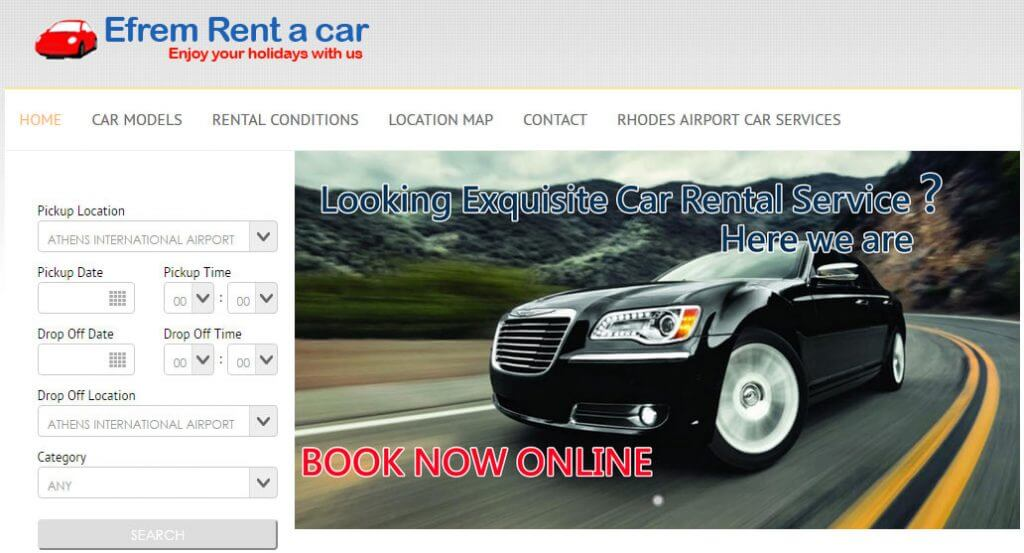 Rhodes Rent a car in Rhodes, Rodos Rent a car is the best car rental office in Rhodes