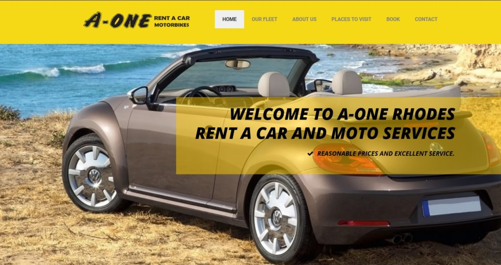 a-one rent a car